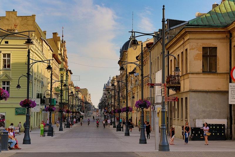 Lodz, Pologne