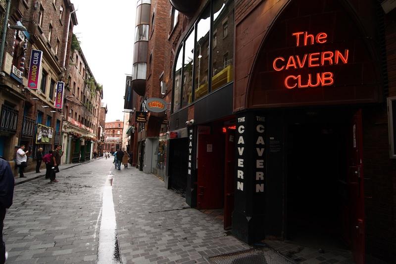 Loger à Liverpool, Cavern Quarter