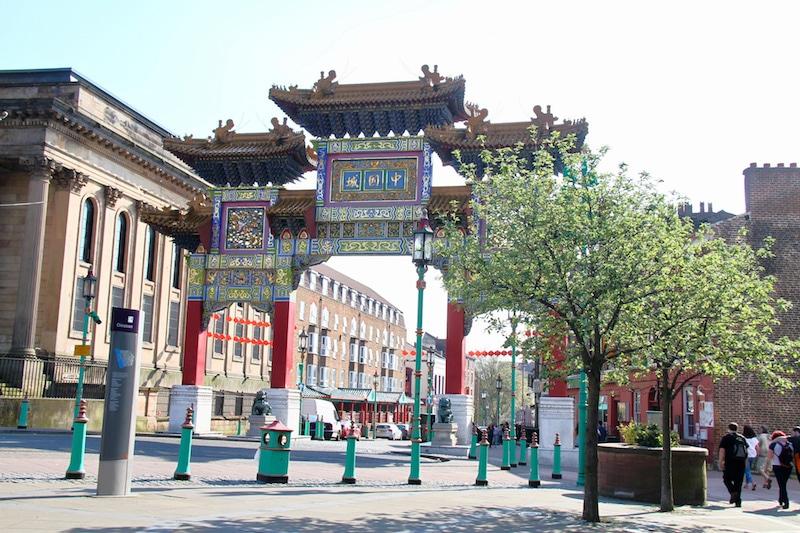 Loger à Liverpool, Chinatown