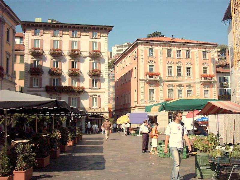 Loger Lugano, Centre