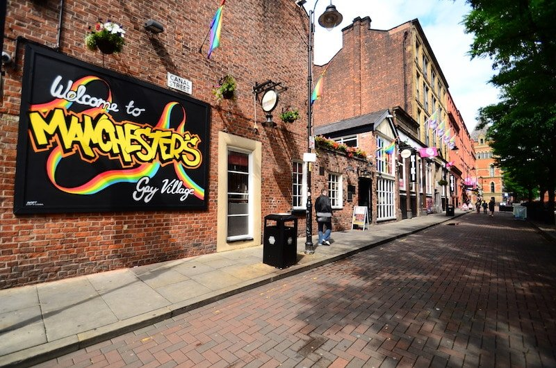 Loger à Manchester, Gay Village