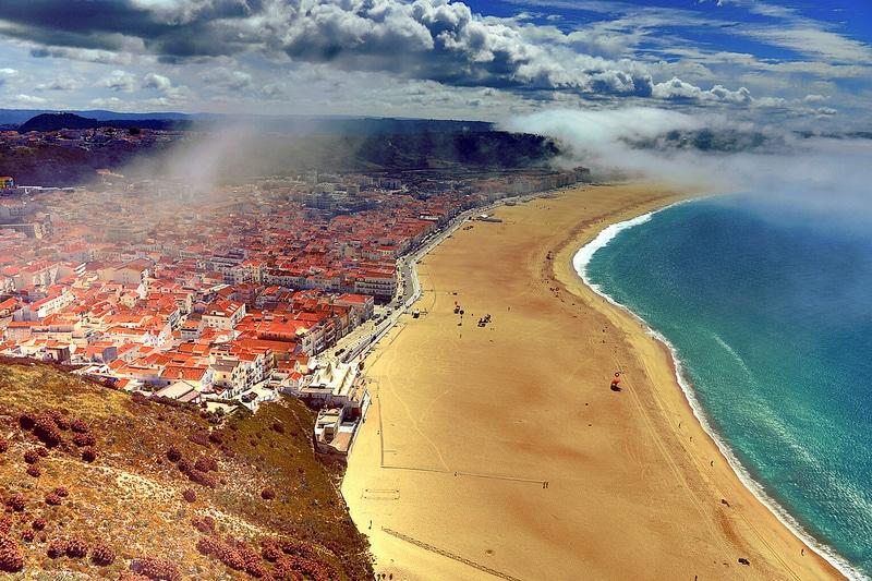 Nazaré, visiter le Portugal