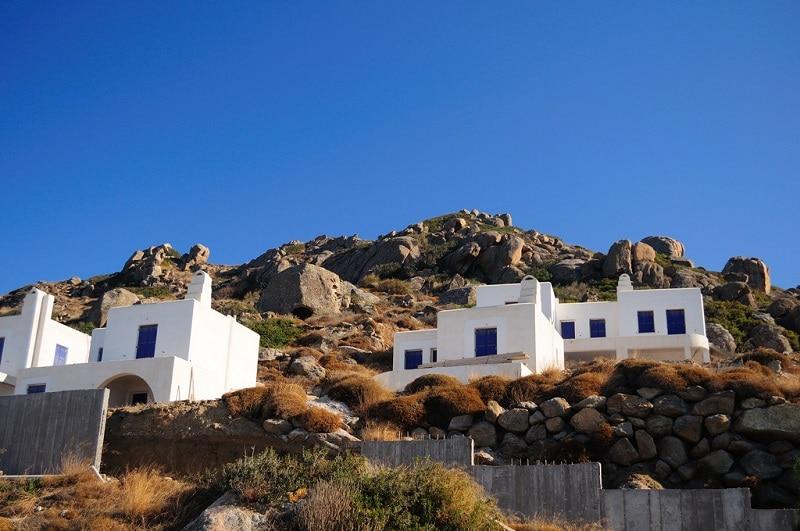 Orkos, loger à Naxos