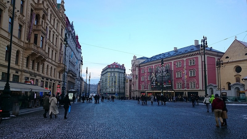 Palladium Centre, shopping à Prague