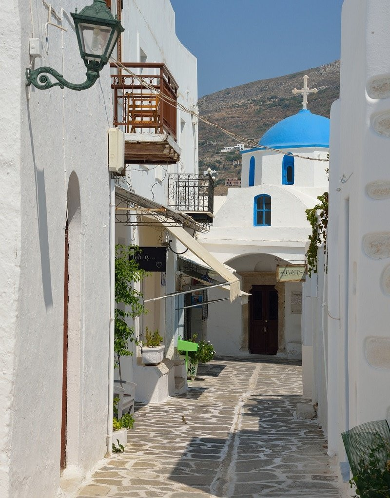Parikia, lodging in Paros