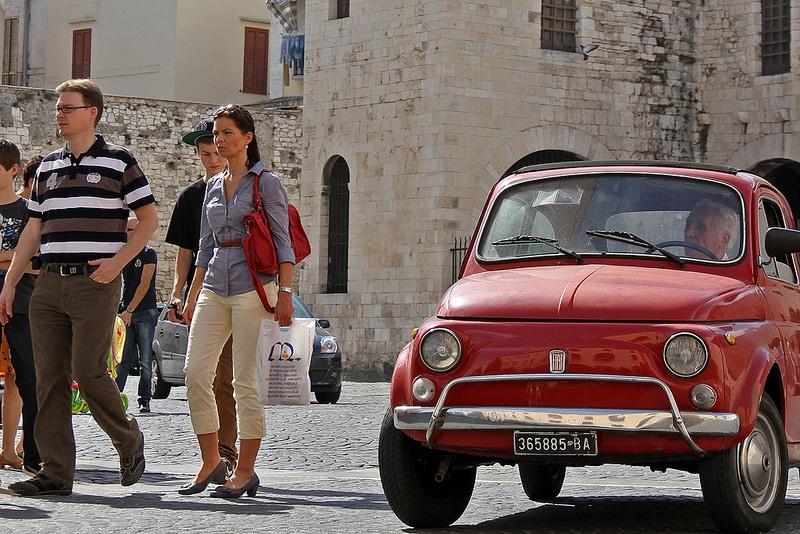Parking à Bari, se garer dans la rue