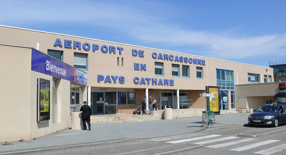 Parking pas cher à l'aéroport de Carcassonne