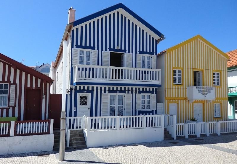 Les plus beaux endroits à visiter au Portugal, La plage de Costa Nova