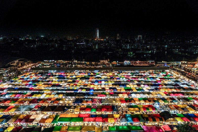 Ratchada market - Bangkok