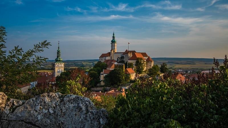 Plus beaux endroits République tchèque, route des vins Mikulov