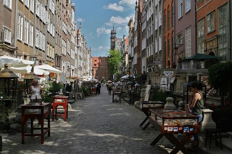 9 choses Incontournables à faire à Gdansk, rue Mariacha