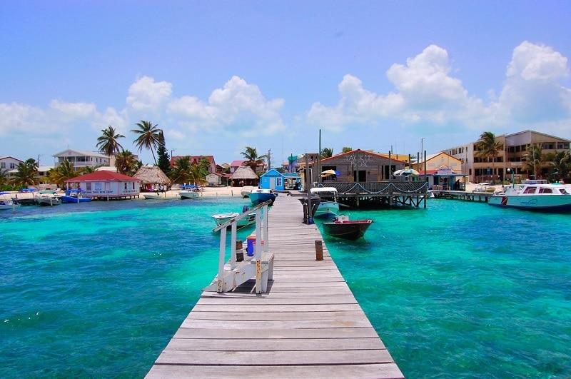 San Pedro - Belize: sur quelle île loger