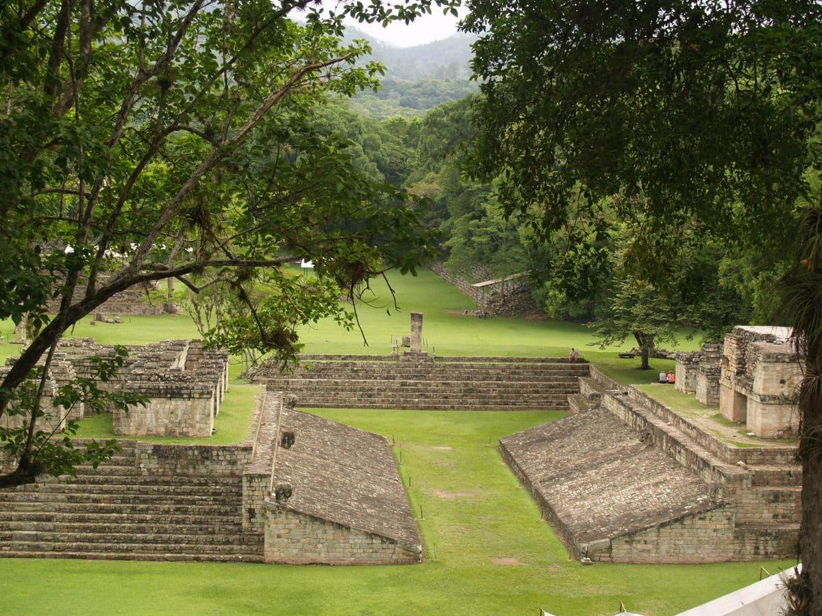 Visite le site Maya Copan au Honduras