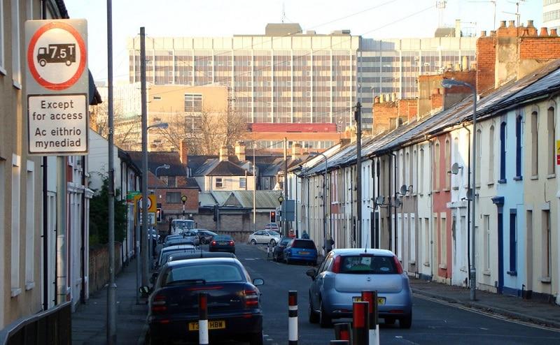 Splott, loger à Cardiff