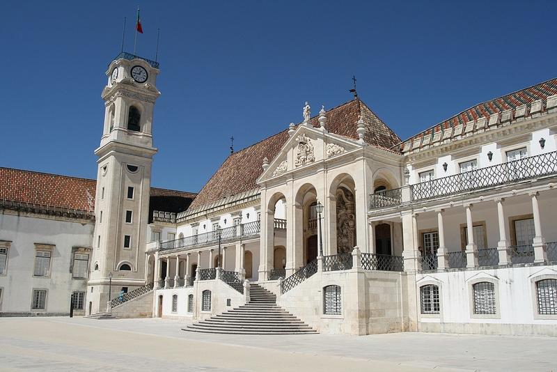 Les plus beaux endroits à visiter au Portugal, L'Université de Coimbra