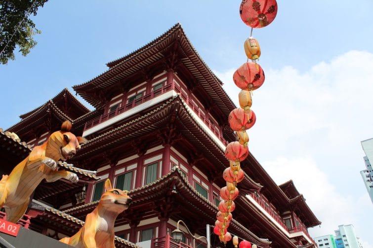 Quartier de Chinatown, Singapour