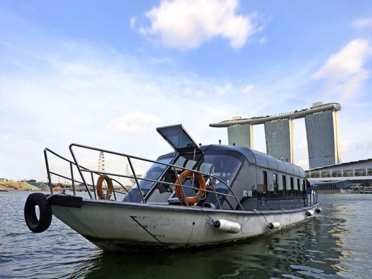Singapour en bateau
