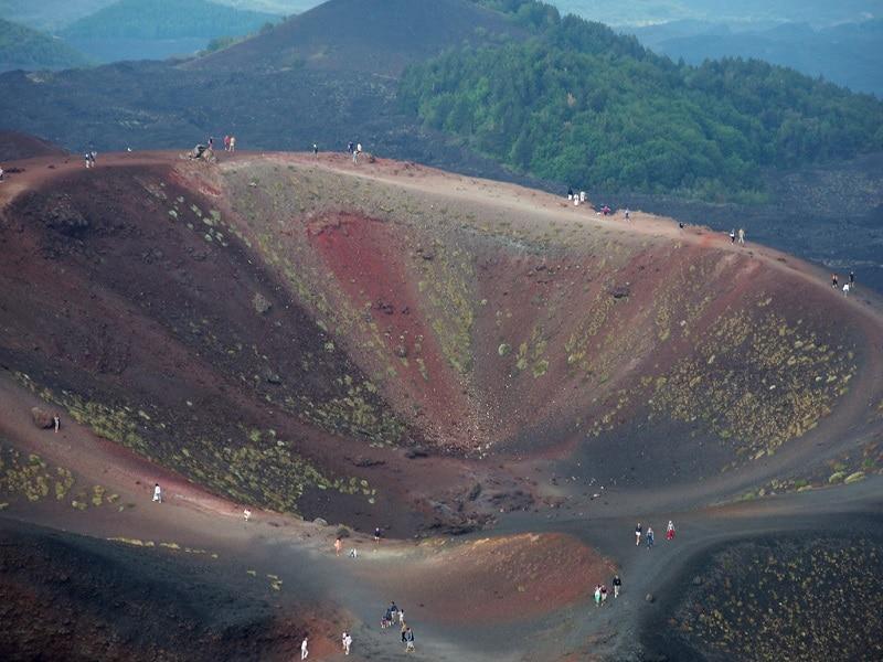 Visiter Etna, sommet