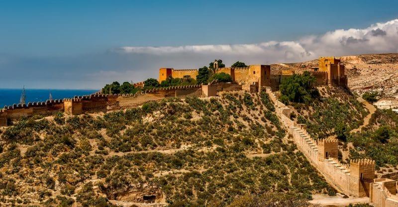 Visiter Malaga, Alcazaba
