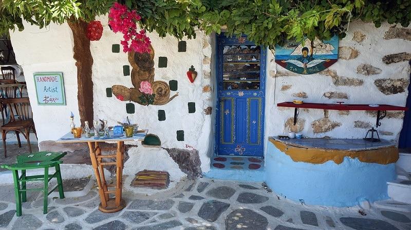 Gastronomie locale à Amorgos