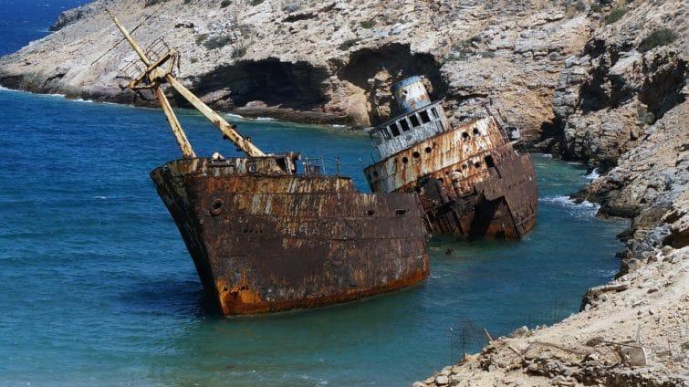 Amorgos, lieux de tournage du Grand Bleu