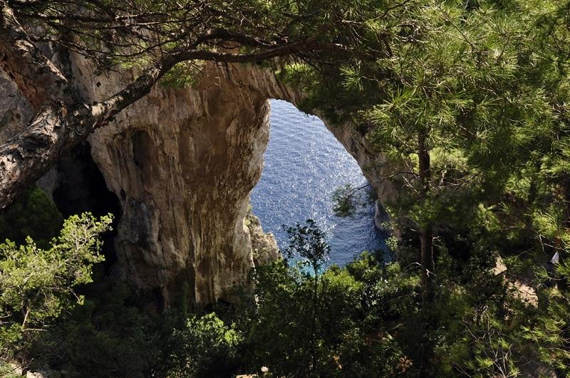 Visiter Capri, Arco Naturale