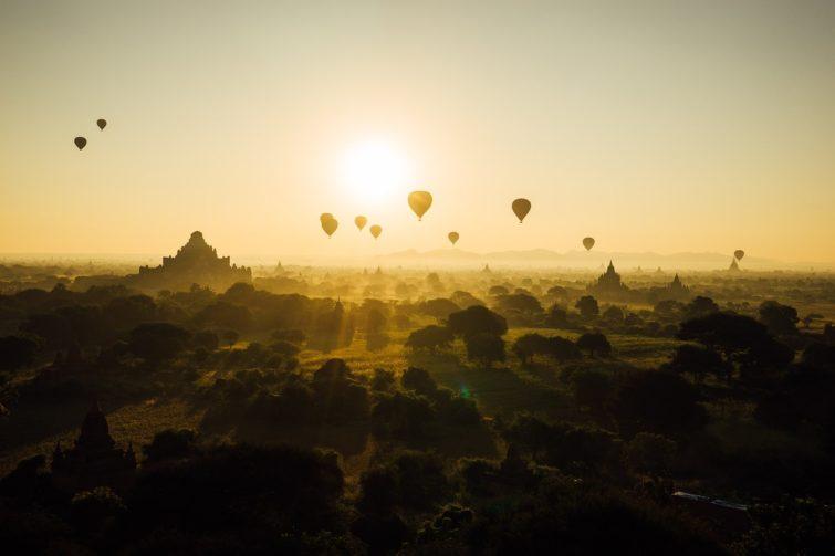 Bagan, Birmanie, voyager après l'été