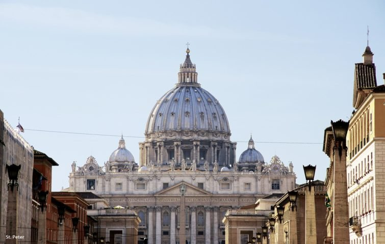 Basilique Saint-Pierre au Vatican, à Rome