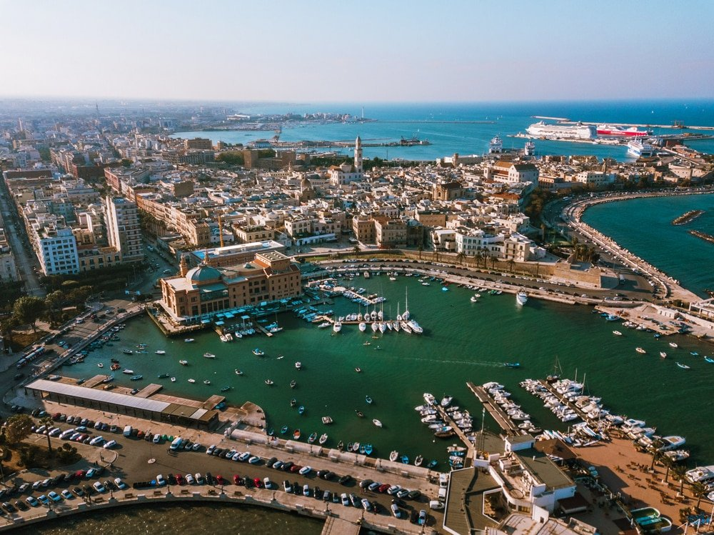Une balade en bateau à Bari