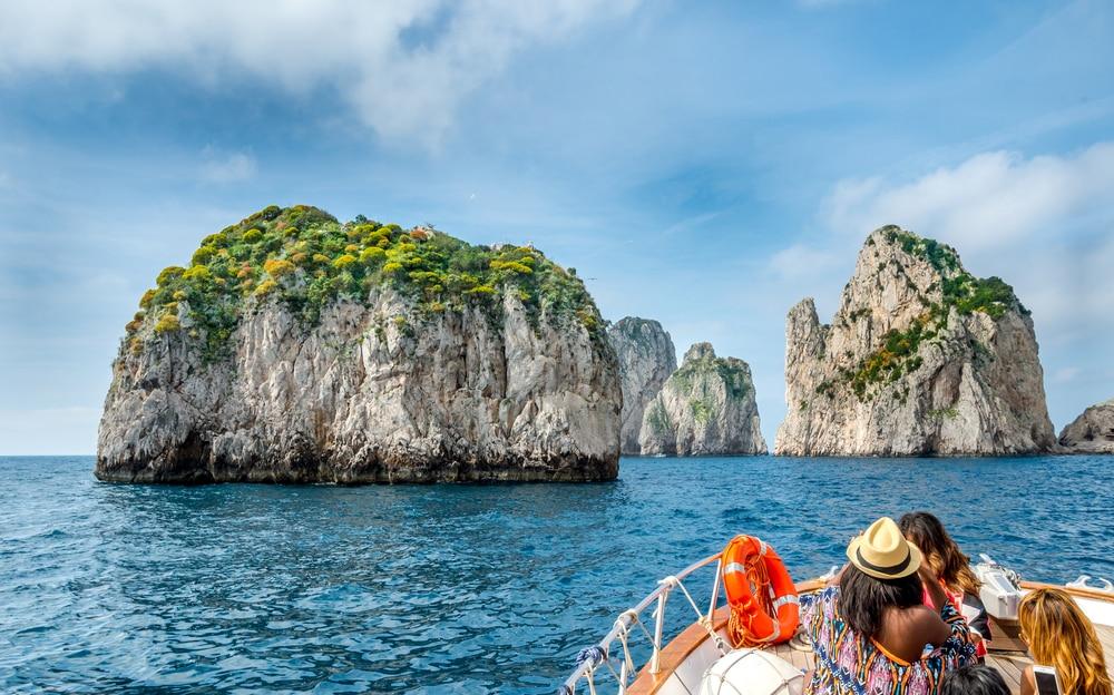 Balade en bateau à Capri