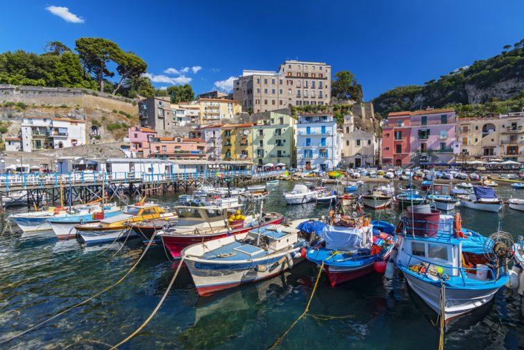 Visiter et louer un bateau à Sorrente