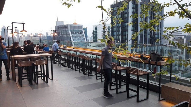 Brewski, rooftop bar, Bangkok