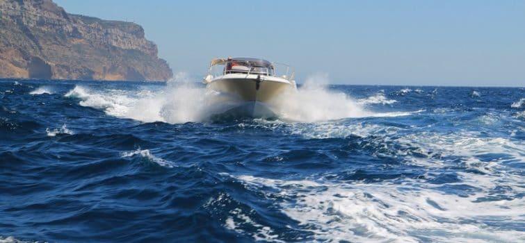Calanques de Cassis en bateau