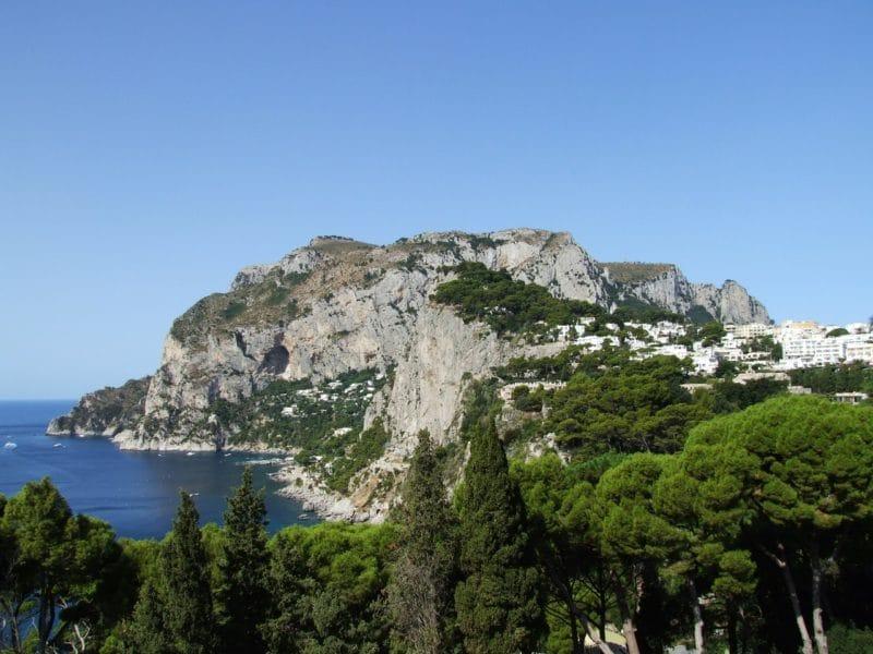 Visiter Capri, randonnées