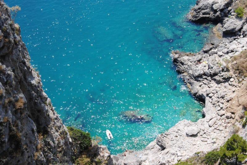 Visiter Capri, plage