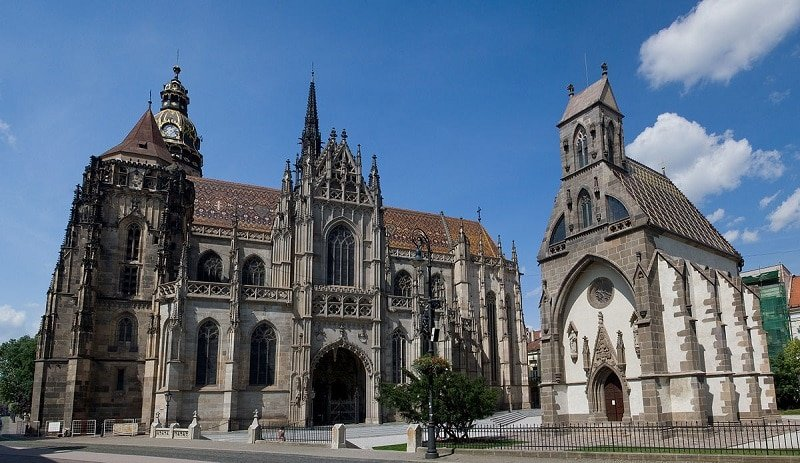 Visiter Kosice, cathédrale Sainte Elisabeth