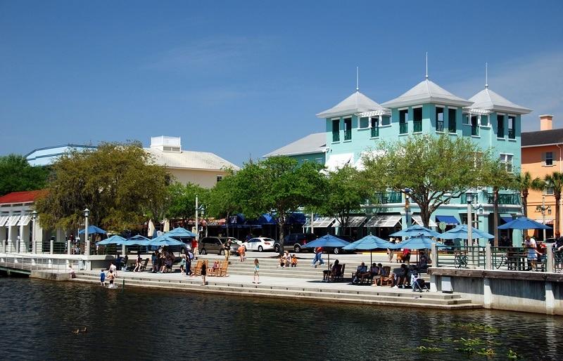 Celebration, Disney, loger à Orlando