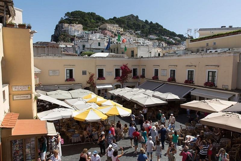 Visiter Capri, centre ville