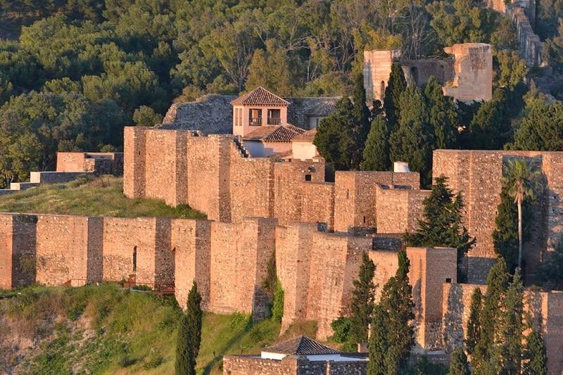 Visiter Malaga, Chateau Gilbrafaro