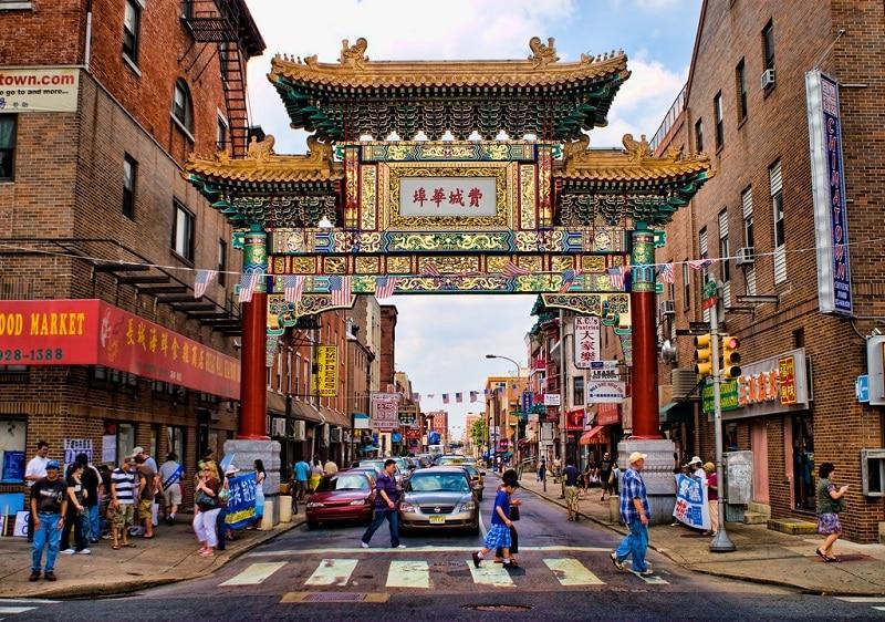 Chinatown, loger à Philadelphie