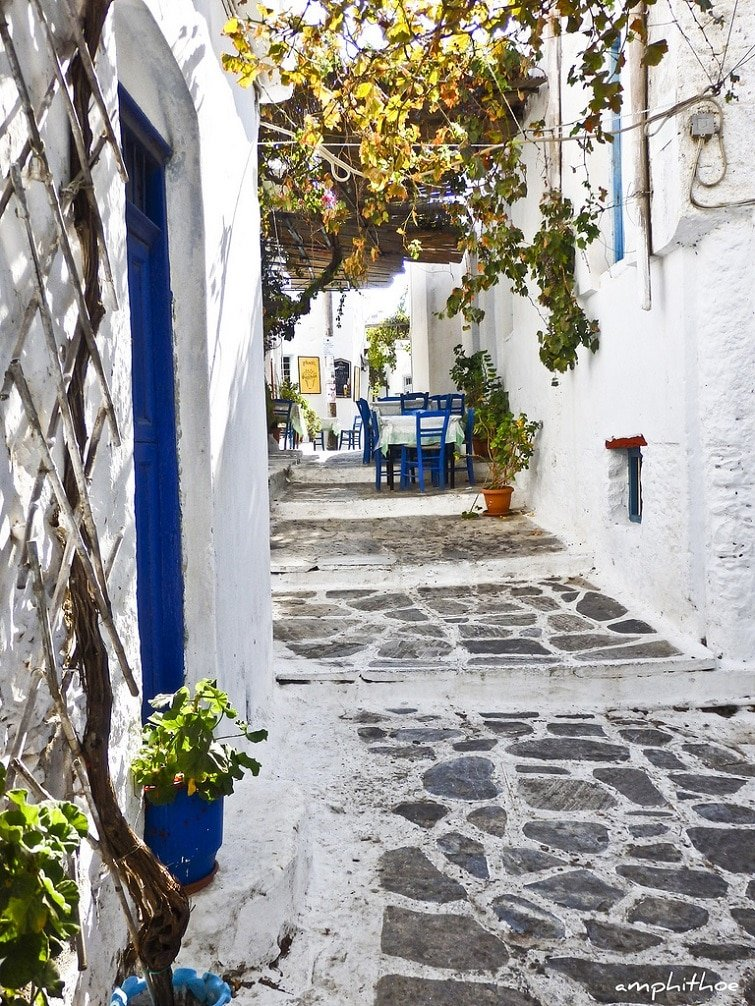 Chora, visiter Amorgos