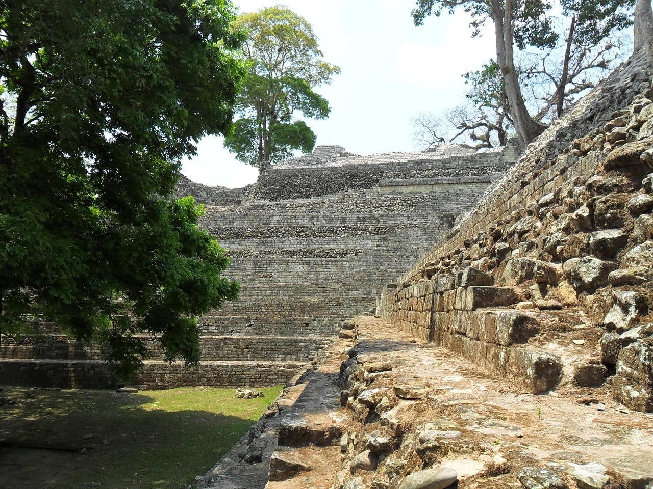 Site maya de Copan au Honduras