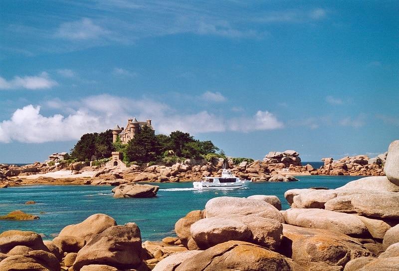 Visiter Bretagne, côte de granite rose