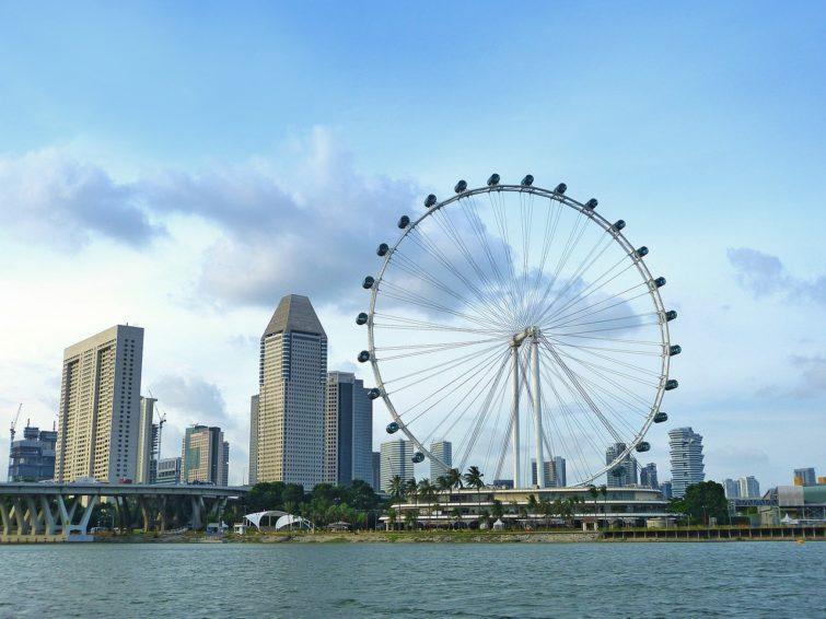 Singapore Flyer, Singapour