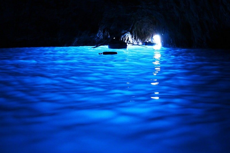 Visiter Capri, grotte bleue