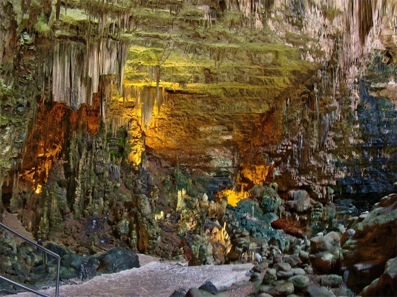 Visiter Bari, grottes Castellana