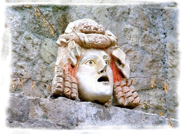 Herculanum, statue
