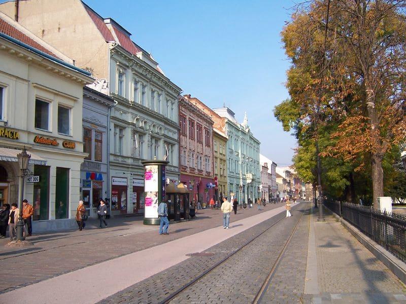 Visiter Kosice, Hlavna Ulica
