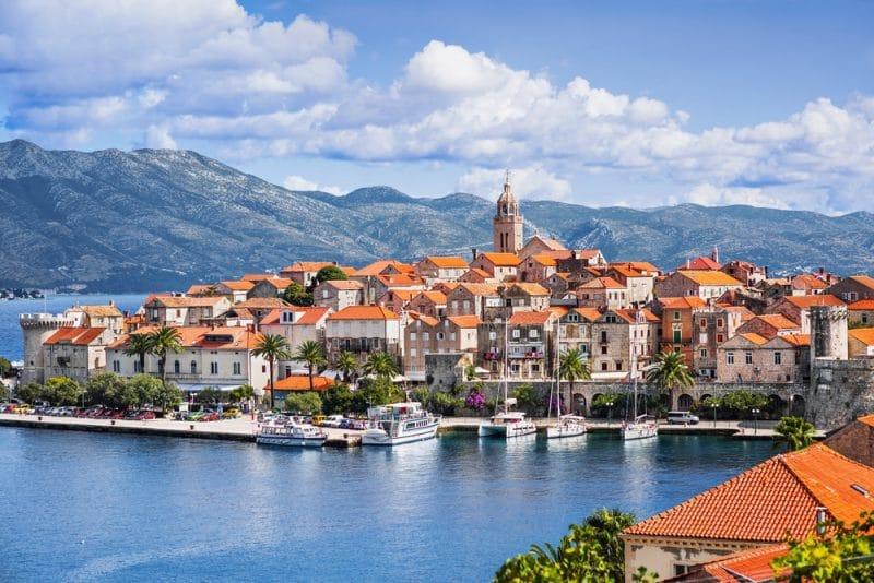 Île de Korčula, Croatie