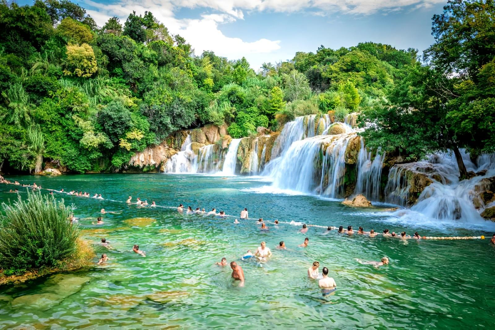 Le parc national de Krka